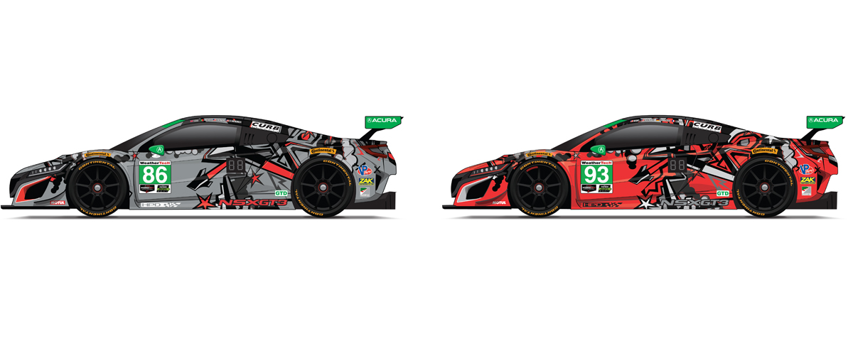 michael shank racing enters new year with fresh liveries